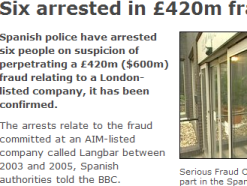 420 million pound fraud