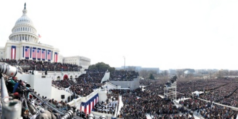 Obama Inaugural on Gigapan