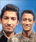 Prashant Tamang and Amit Paul